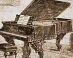 1873 Decker Grand Piano