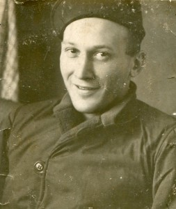 My father in his WWII uniform.